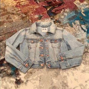 Girls sz7 Aeropostale jean jacket
